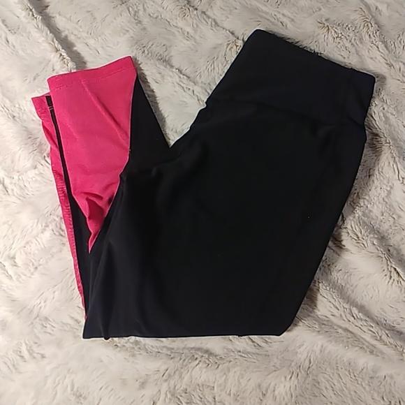 Nike Pants - Nike Dri Fit Legend Pant Mesh Bottom Capri